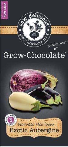 Sow Delicious Grow Chocolate Exotic Aubergine